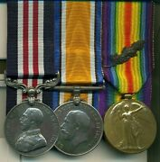 A Wwi Mm Group Of 3 Awarded To Private B. G. L. Butt 46th South Saskatchewan