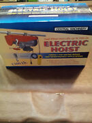 Central Machinery Dual Wheel Electric Winch 1300 Model 2954