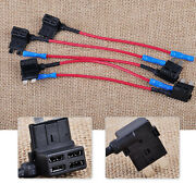 5xcar Add-a-circuit Medium Middle Ato Atc Blade Fuse Tap Circuit Adapter Holder
