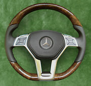 Amg-package ◆ Mercedes-benz ◆ Steering Wheel ◆ Wood / Leather ◆ Leather AirВag