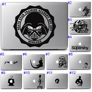 Cool Star Wars Fun Graphics Design Sticker Decal Apple Macbook Air Pro Laptop
