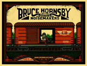 Bruce Hornsby Englewood Nj 2011 By Matt Leunig Signed Poster Print Noisemakers