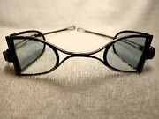 1840 Rare Continental Silver Frame Double D Carriage Protective Spectacles
