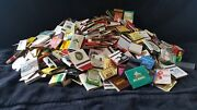 Vintage Matchbook Covers Lot Of Over 400 Unused And Over 100 Used