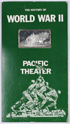 Pearl Harbor Attack History Of Wwii Pacific Theater .925 Silver Art Bar 45g