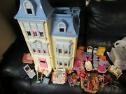 Fisher Price Sweet Sound Dollhouse With Furniture People