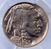 1919 Buffalo Nickel Pcgs Ms 64 Well Struck Excellent Luster And Hint Of Color