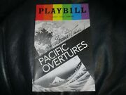 Playbill Pacific Overtures Autographed By George Takei Beckett Auc Cert
