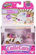 Shopkins Cutie Cars 36 Sneaky Speedster Limited Edition In Hand