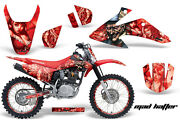 Graphics Kit Decal Wrap + Plates For Honda Crf150 Crf230f 2008-2014 Hatter R R