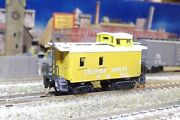 N-scale Custom Painted Columbia And Cowlitz 6 Caboose