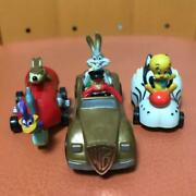 Loony Tunes Mini Car Figure Set Of 3 Collectible Rare Toy Vintage 90and039s F/s Japan