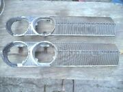 1963 Dodge Custom 880 Grille - Lh And Rh Pieces - Nice Condition