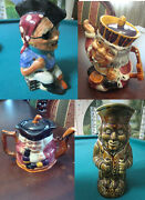Shorter And Son Staffordshire Toby Character Jug Pitcher Teapot Pick 1