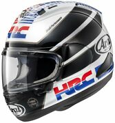 Honda Helmet Rx-7x Hrc Replica L 59cm-60cm Full Face Ems F/s Made In Japan