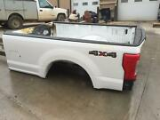2017 2018 2019 Ford F250 F350 8 Foot Long Truck Bed Box 8' Box Srw White Code Z1