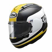 Arai Motorcycle Helmet Full Face Rx-7x Yellow Xl 61-62cm Ems F/s Made In Japan