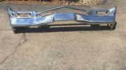 1964 Buick Electra Front Bumper Oem Nice Chrome