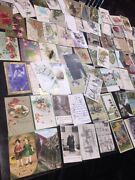 Lot Of 90 1905-43 Era Postcards Large Variety Port Jervis Ny, Ww2, Irving Cliff