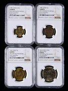 1981 China Yuan And Jiao 2016 Beijing Inte'l Coin Exposition Ngc Sample,china Coin