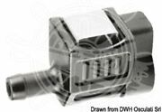Osculati Engine Side Connector 17650-zw9-023 Square Joint 8mm Hose Adaptor