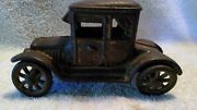 Cast Iron Ac Williams Oldtimer Ford Model T Doctors Coupe Car Tulip Body Version