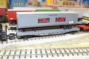 N-scale Custom Painted Landn L'vlle And Nashville Tofc Gray 42015