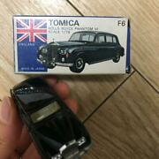 Tomica Rolls Royce Phantom Vi 1/78 Mini Car F6 Made In Japan Collectible Hobby