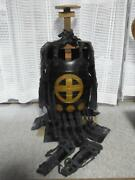 Japanese Vintage Armor Collectible Art Decor Not Replica Made Year Unknown F/s