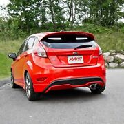 Mbrp T304 3 Exhaust Dual Tip Exit For 14-19 Ford Fiesta St Hatch 1.6l