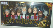 The Lord Of The Rings Pez Complete Set Collector's Series Herr Der Ringe Unopene