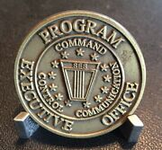 Peo Command, Control And Communications Systems, Fort Monmouth, Nj Challenge Coin