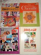 Lot Of 16 Clothing And Fashion Pattern Instruction Books-sewing Smocking Paint