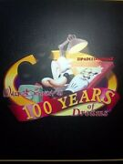 Le 100 Disney Pins Set Full 100 Years Of Dreams Binder Mickey Mouse Mine Train+