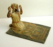 H930 Germany 1910 Cold Painted Orientalist Lead Toy By Georg Heyde Bergman Style
