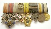 Y702 Romania Ww1 Medal And Order Bar 8 Pieces