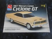 Vintage 1993 Amt And03967 Mercury Comet Cyclone Gt 1/25 Scale Skill Level+2