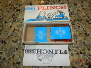 Vintage Flinch The Famous Card Game Parker Brothers Inc 1963 Nice