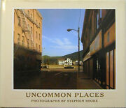 Stephen Photography Shore / Uncommon Places First Edition 1982