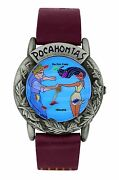 New Disney Pocahontas And John Smith Limited Edition Animated Watch Htf