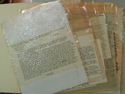 Collection Of Correspondence Between Marvin Bell And Charles Simic 11 Signed 1st