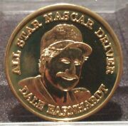 Dale Earnhardt All Star Nascar Driver Medal Coin Token Racing The Intimidator 3