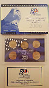 Us 2006 Mint Quaters Proof Set United States Coins Money Sets Collectibles
