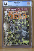 Walking Dead 81 Cgc 9.8 White Pages Death Of Tobin No Way Out Part 2