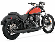 Vance And Hines Pro Pipe Exhaust Black For Harley Softail 47527