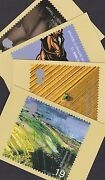 Great Britain Gb 1999 Unused Full Set Phq Stamp Cards No 211 Farmers Tale Foods
