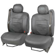 Pu Leather Front Car Seat Cover Set Built-in Seat Belts Fits Lincoln Navigator