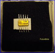 Super Rare Ti Sn393a Gate Ic Nasa Early To Middle 1960and039s Rtl Logic