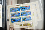 Cook Islands 1960and039s Mint Stamp Collection