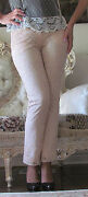 New Valentino Roma Cream Full In Lacelined Dress-y Pants It 38-402-4xs-s